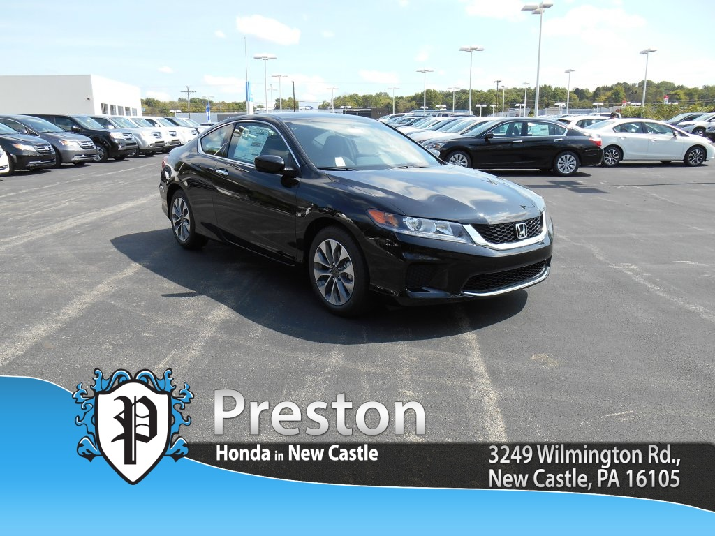 New 2015 honda accord lx s 2d coupe in new castle h15042 for Castle honda service