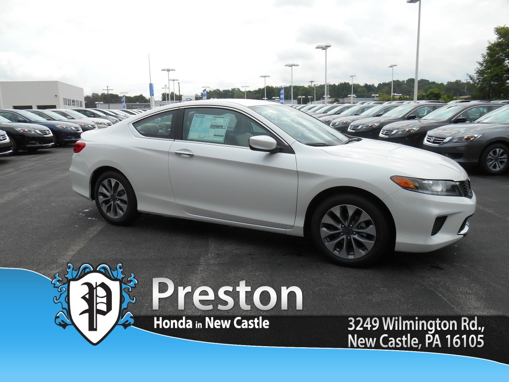 New 2015 honda accord lx s 2d coupe in new castle h15769 for Castle honda service